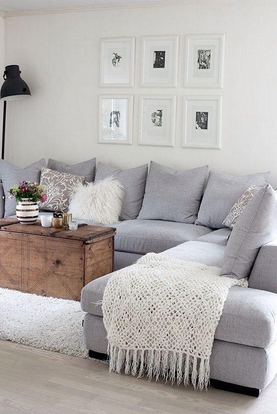 50+ Beautiful Living Room Home Decor 98