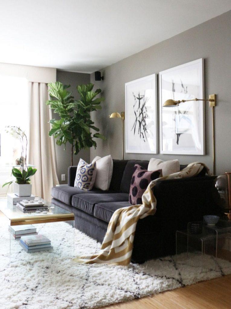 50+ Beautiful Living Room Home Decor 46