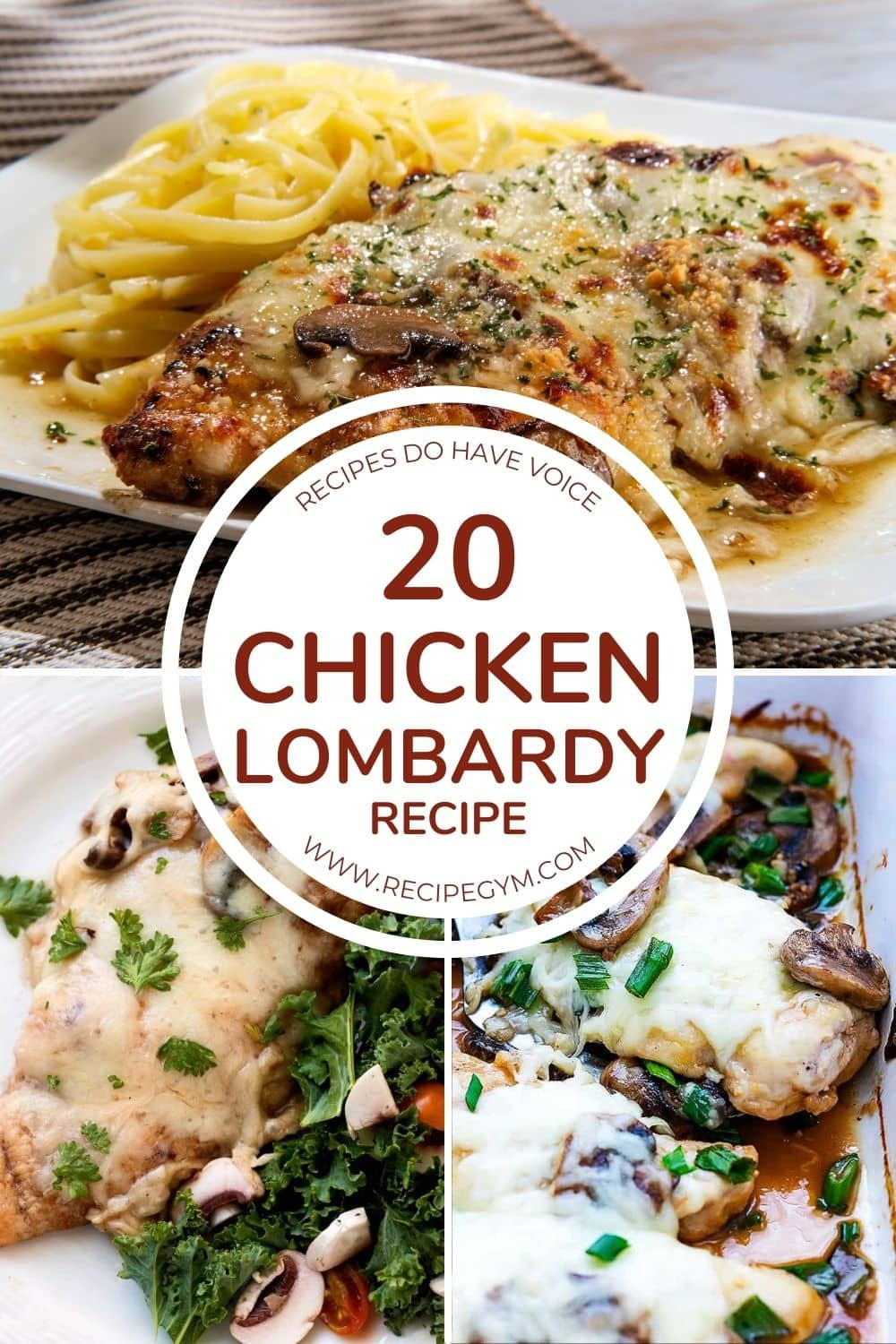 20 chicken lombardy recipe