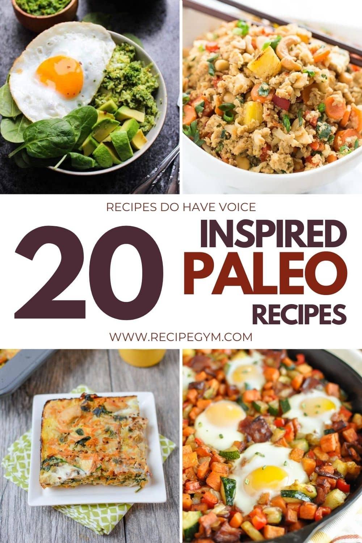 Easy inspired paleo recipes