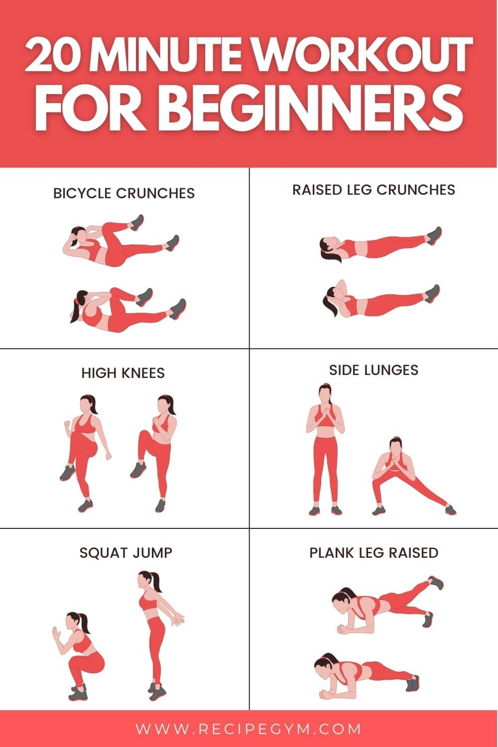 20 minute workout for beginners