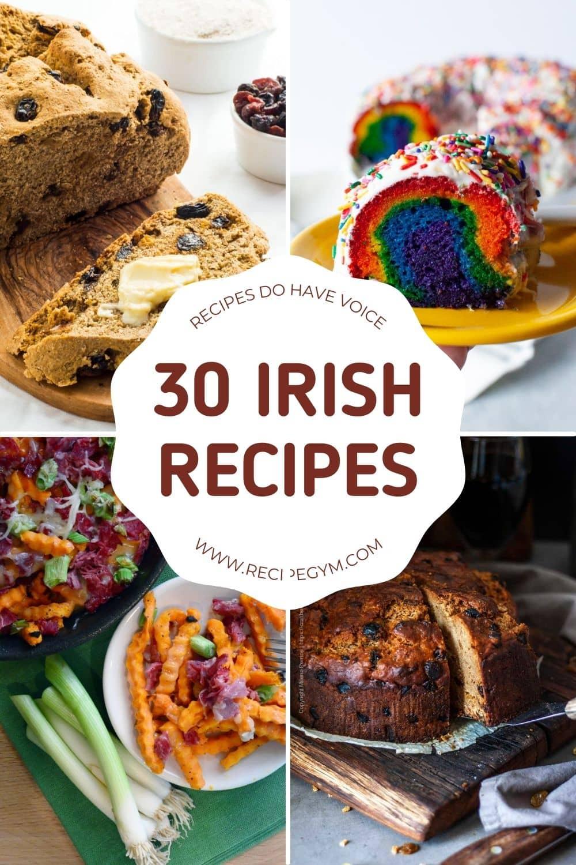 30 irish recipes