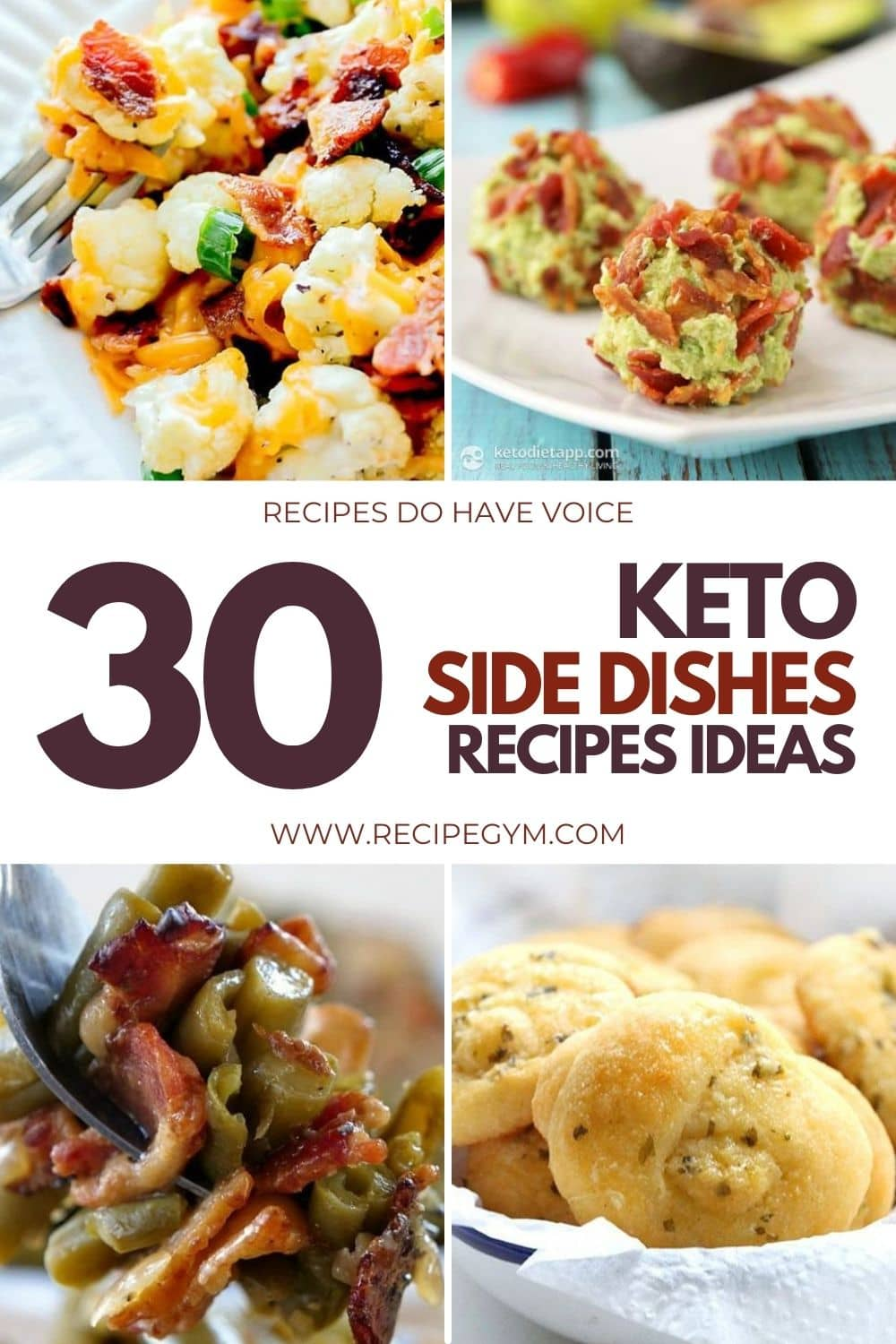 30 keto side dishes recipes