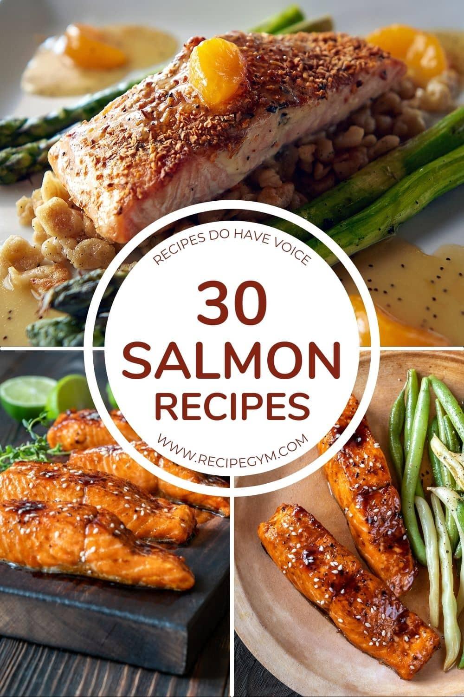 30 salmon recipes