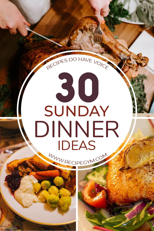30 sunday dinner ideas img