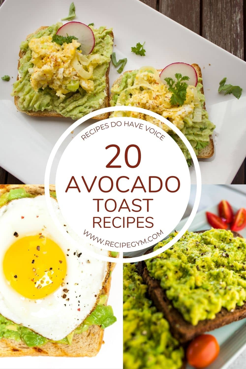 Avocado Toast Recipes