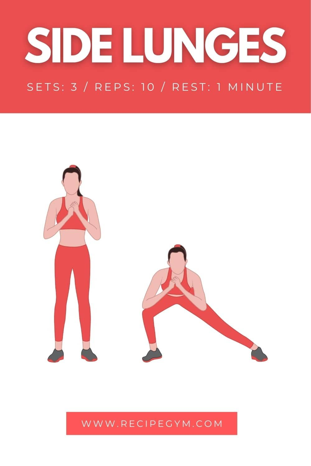 Side Lunges Workout