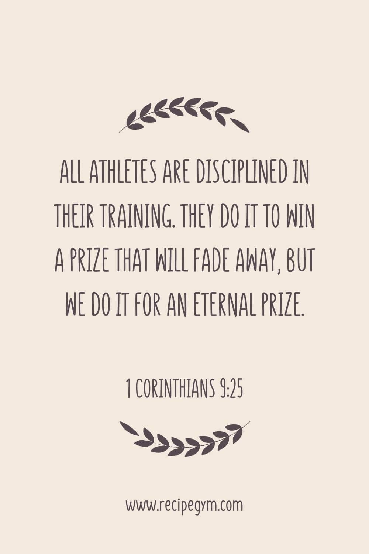 20 amazing bodybuilding & fitness bible verses | faith fitness food