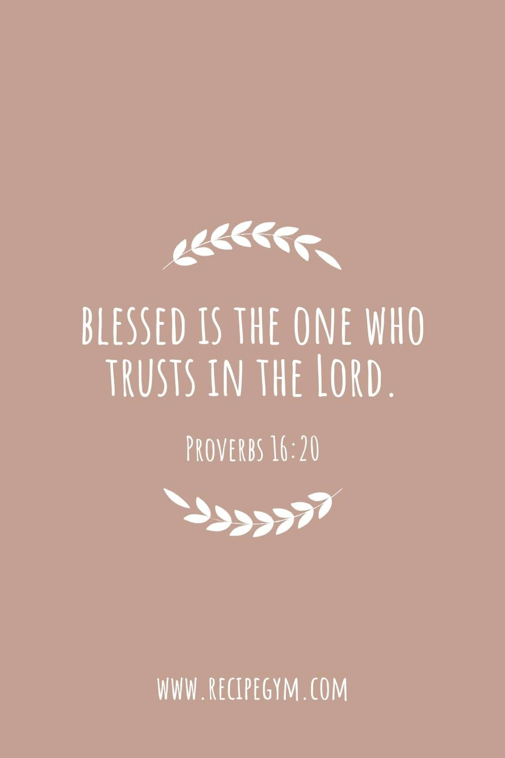 Bible verses about blessings of god