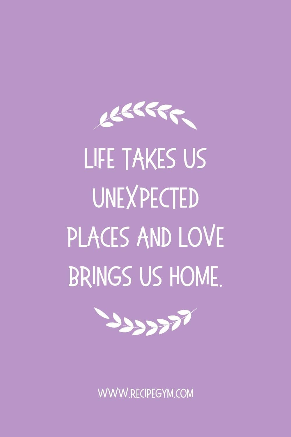 40+ inspiring wall art quotes for home decor | faith fitness food