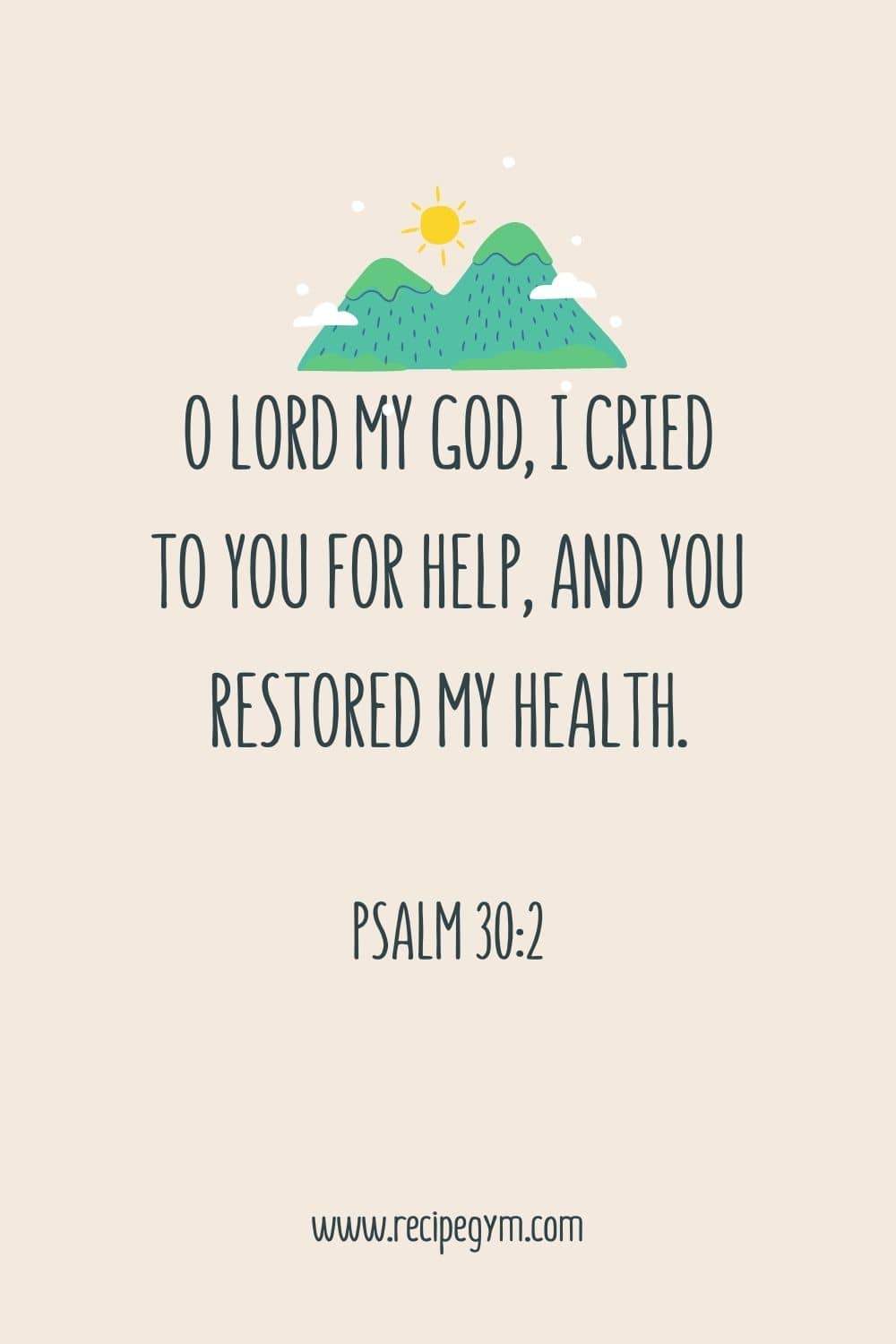 30 promising bible verses about healing | faith fitness food
