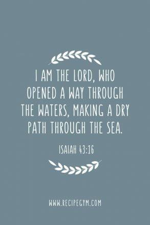 20 god will make a way bible verses | faith fitness food