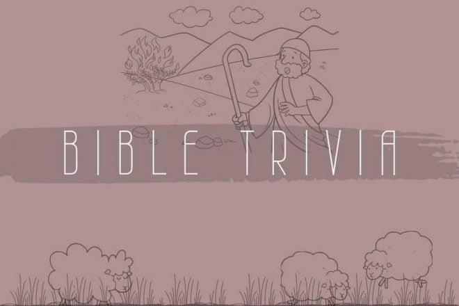 Bible trivia game old testament