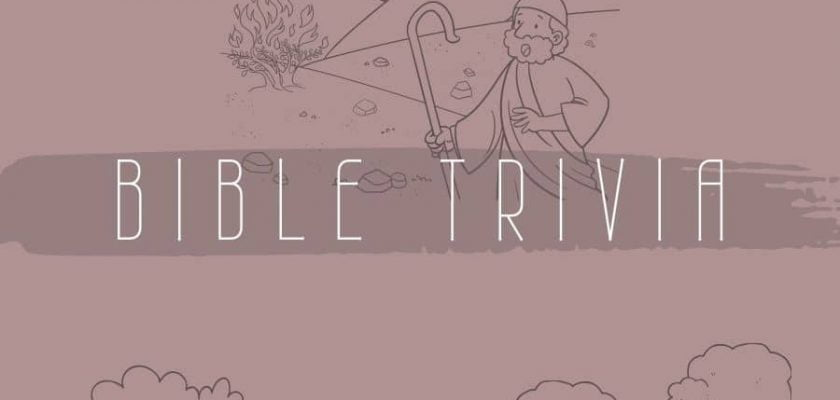 200 bible trivia questions and answers - old testament part 2 | faith fitness food