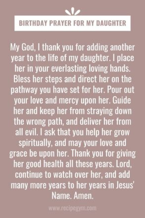 Prayers for birthday blessings birthday prayer for my daughter