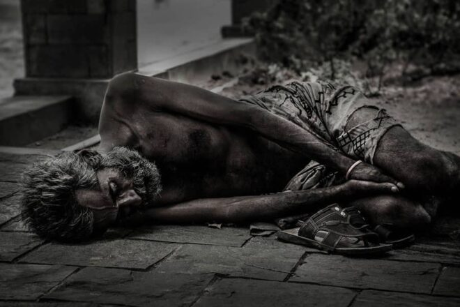 If a man shuts his ears to the cry of the poor