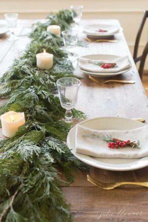 30 christmas table decorations ideas for [year] | faith blog